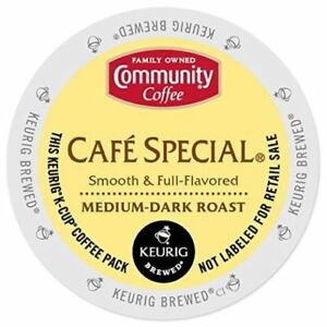 Community Coffee Cafe Special Coffee 18 to 144 Count Keurig K cup Pick Any Size