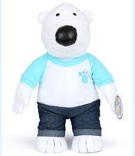 Hoby- Polar bear 44CM Plush Soft Rag Toy Stuffed Pororo Animation doll/Baby Kids