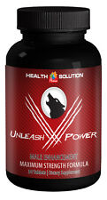 Horny Goat Weed Extract-Unleash V Power.Male Enhancement Formula (1 Bottle)