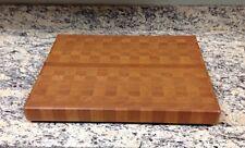 "Cherry Butcher Block Cutting Board NEW end grain 16"" X 20"" X 1-7/8"""