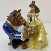 Walt Disney Classics Beauty and the Beast Windup Musical Figurine - Works!