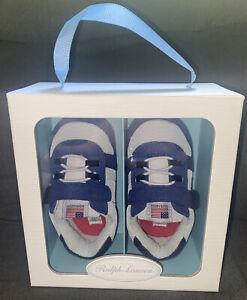 Polo Ralph Lauren Infant Boys Layton EZ Sneakers Size 4 {9-12months} NIB 👟🏇