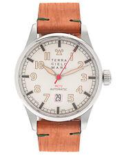 Terra Cielo Mare Aviatore MkII  Stainless Steel Auto Men's Watch TC7103AC2PA
