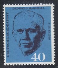 Germany 1960 MNH Mi 344 Sc 821 George C. Marshall.General & statesman  **