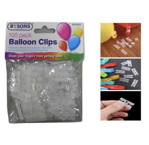 100 Wedding Party Christmas Ballon Clips Ring Arch Balloon Buckle Connectors DIY