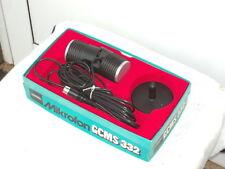 1 Set Vintage Mikrofon GCMS 332 Grundig Stereo original Zustand OVP