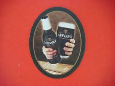 Beer Brewery Coaster ~*~ Guinness Draught Stout ~*~ BELIEVE ~^^~ Dublin, Ireland