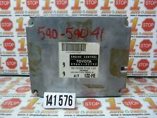 2001 01 2002 02 TOYOTA COROLLA AUTOMATIC ENGINE COMPUTER ECU ECM 89661-02792 OEM