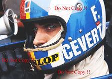 Francois Cevert Tyrell F1 Portrait Photograph 18