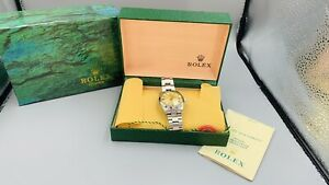 Rolex 6694 Oyster Date Watch Gold Stainless