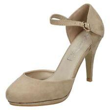 Decolté e sabot da donna cinturini, cinturini alla caviglia Piatto (Meno di 1,3 cm) 100% pelle