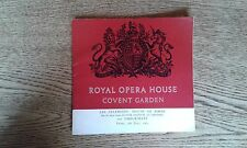 Royal Opera House Covent Garden Programme June 1963 Royal Ballet Les Sylphides