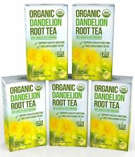 Dandelion Root Tea - Raw Organic Vitamin Rich Digestive - 5 pack (100 Bags 2 ...