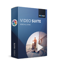 Movavi Video Suite 18 ,Create enhance movies,effects 180+ formats & devices