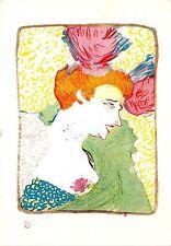 B53852  H de Toulouse Lautrec Marcelle Lender Lithographie femmes Women