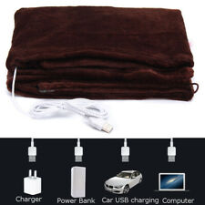 Electric Heated Throw Blanket Fleece Washable Warm Mattress Charging Heating Rug
