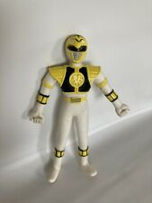 "Power Rangers White Ranger Bendable Loose 5.25"" Figure Gordy Toy 1994"