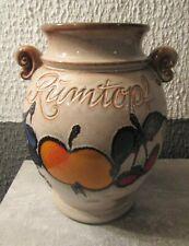Original Bunzlauer Keramik Rumtopf 4.2 Liter//Mehrzwecktopf//Keramiktopf im Dekor ZACIEK