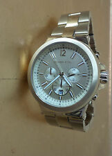 Womens Watch Designer Michael Kors Gold Bracelet Chronograph Oversized