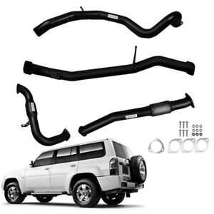 """SUITS NISSAN PATROL WAGON GU 3L TD 3""""INCH FULL EXHAUST WITH CAT AND PIPE"""