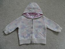 Baby Girl's Floral Zipped Hooded Jacket by F&F at Tesco's Age 3-6 Months