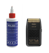 Wahl Clipper Oil 4oz and Wahl Finale Shaver