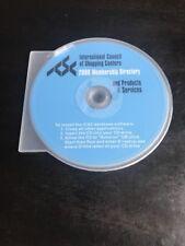 International Council Of Shopping Center 2008 CD