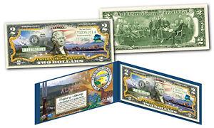 ALASKA Genuine Legal Tender $2 Bill USA Honoring America's 50 States