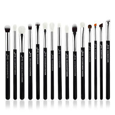 15X Eyeliner Pencil Blending Brow Eyeshadow Precision Complete Eye Brushes Set
