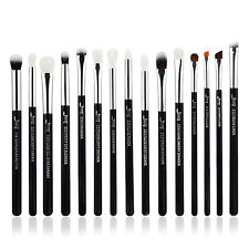 Jessup 15Pcs Precision Makeup Brushes Set Eyeshadow Eyeliner Brow Blending Tool