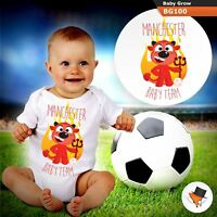 Baby Grows 0-3 3-6 Months Manchester United Baby Football Team Utd All Sizes
