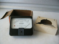 Vintage Televac Micron Meter in Honeywell Box