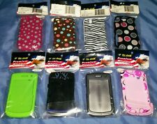 Lot of 8 Blackberry Tour 9650/9630 cell phone cases