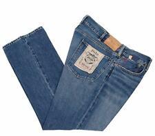 5609-00 Polo Ralph Lauren Mens Sullivan Slim Leg Blue Jeans Pants 33W x 30L $129