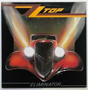 ZZ TOP Eliminator 1983 vinyl LP Warner Bros 92-3774-1 FIRST PRESSING A1/B1 EX+