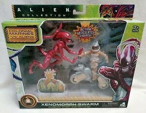 ALIENS - *NMIB* Alien Xenomorph Swarm Runner Planetary Attack Figure Pack
