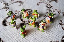 Vnitage 90 s Kinder surprise Crocs petit jouet crocodiles figurines X 8