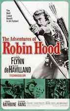 Metal Sign Adventures Of Robin Hood The 09 A4 12x8 Aluminium