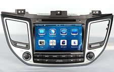 "8"" Stereo Car Radio DVD Player GPS Navigation For Hyundai Tucson IX35 2015 2016"