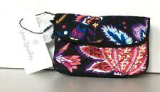 Vera Bradley Small Jen Iconic Zip ID Case Foxwood Multi-color