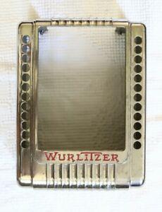 WURLITZER WALLBOX JUKEBOX COVER MODEL 3020 WALLBOX USED ON 1015 / 950  / 1100