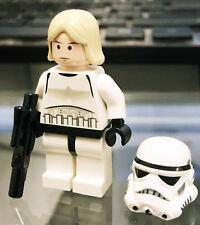 New Lego Star Wars Death Star 10188 Luke Skywalker as Stormtrooper Minifigure