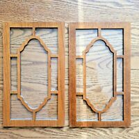 Howard Miller Sligh Pearl Grandfather Clock Access Wood/Glass Door Panels