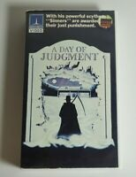 A Day of Judgment VHS Thorn EMI Video Deep South Christian Horror Earl Owensby