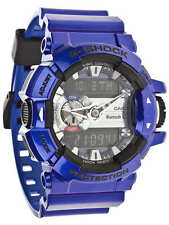 *NEW* CASIO MENS G SHOCK METALLIC PURPLE BLUETOOTH MIX MUSIC WATCH GBA-400-2