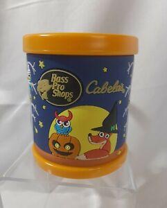 Cabela's Bass Pro Shop Plastic 3D Halloween Glow in Dark Handle Cup Mug