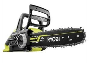 "Ryobi 12"" Brushless Chainsaw 18V ONE+ Tool Only Tool-less chain tensioning"