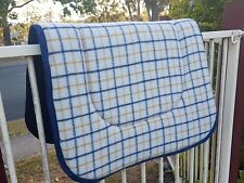 """Kersey Wool Stock Saddle Cloth / Pad / Blanket large size 27""""x 36 """" Aussie Made"""