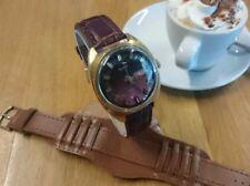 Relojes de pulsera de cuerda de día y fecha para hombre