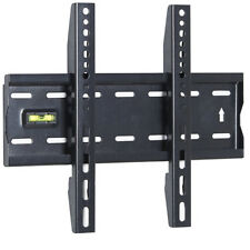 15 to 42 Inches Fixed TV Wall Mount Bracket with Built-In Spirit Level UKDC